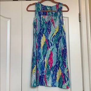 Lilly Pulitzer Multi-Color Sleeveless Cotton Dress
